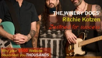 The Winery Dogs' Richie Kotzen …