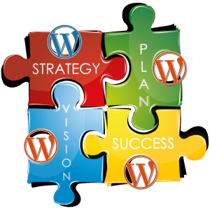 Plan your work and work your plan for success with WordPress.
