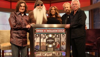 The Oak Ridge Boys Honored With 41 Million Album Sales Award During The Wendy Williams Show