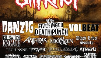 SLIPKNOT'S LEGENDARY KNOTFEST RETURNS TO THE U.S.