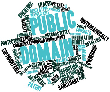 Word cloud for Public domain
