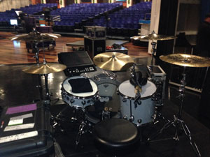 My kit ready for the Ellen show in Burbank, CA
