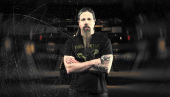 CHRIS ADLER of LAMB OF GOD Joins DAVE MUSTAINE in the Studio