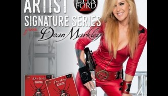 Dean Markley Launches Lita Ford Black Widow Artist Series Strings