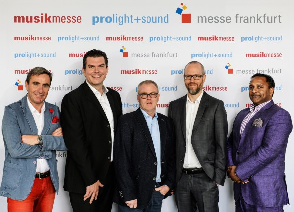 Messe Frankfurt, Musikmesse, Prolight+Sound