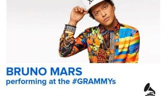 BRUNO MARS TO PERFORM  ON THE 59TH ANNUAL GRAMMY AWARDS®