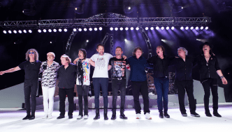 Original Foreigner members join band on Jones Beach stage