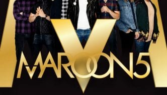 MAROON 5 RETURNS TO MANDALAY BAY EVENTS CENTER FOR NEW YEAR'S EVE WEEKEND